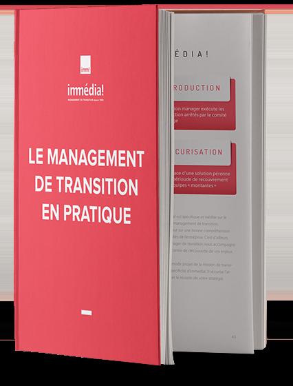 Livre et docummentation sur le management de transition par Immédia!