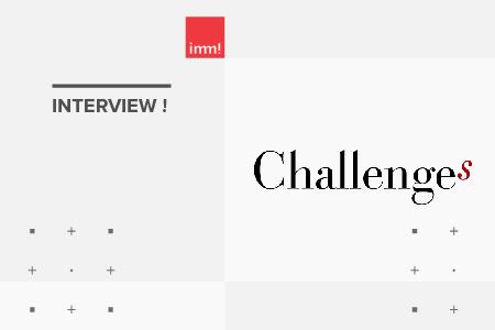 immédia! dans Challenges Magazine